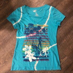 Op v-neck tie dye shirt / juniors 11-13